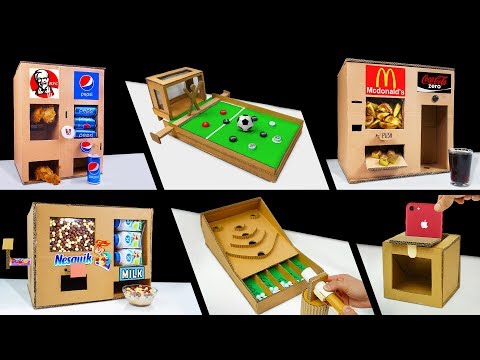 TOP 10 Awesome Cardboard Videos in The World