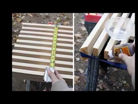 видео: Стол скамейка своими руками    ๏̯͡๏ do it yourself ๏̯͡๏  