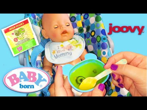 Zapfs Creations Baby Born Doll Feeding With Baby Alive