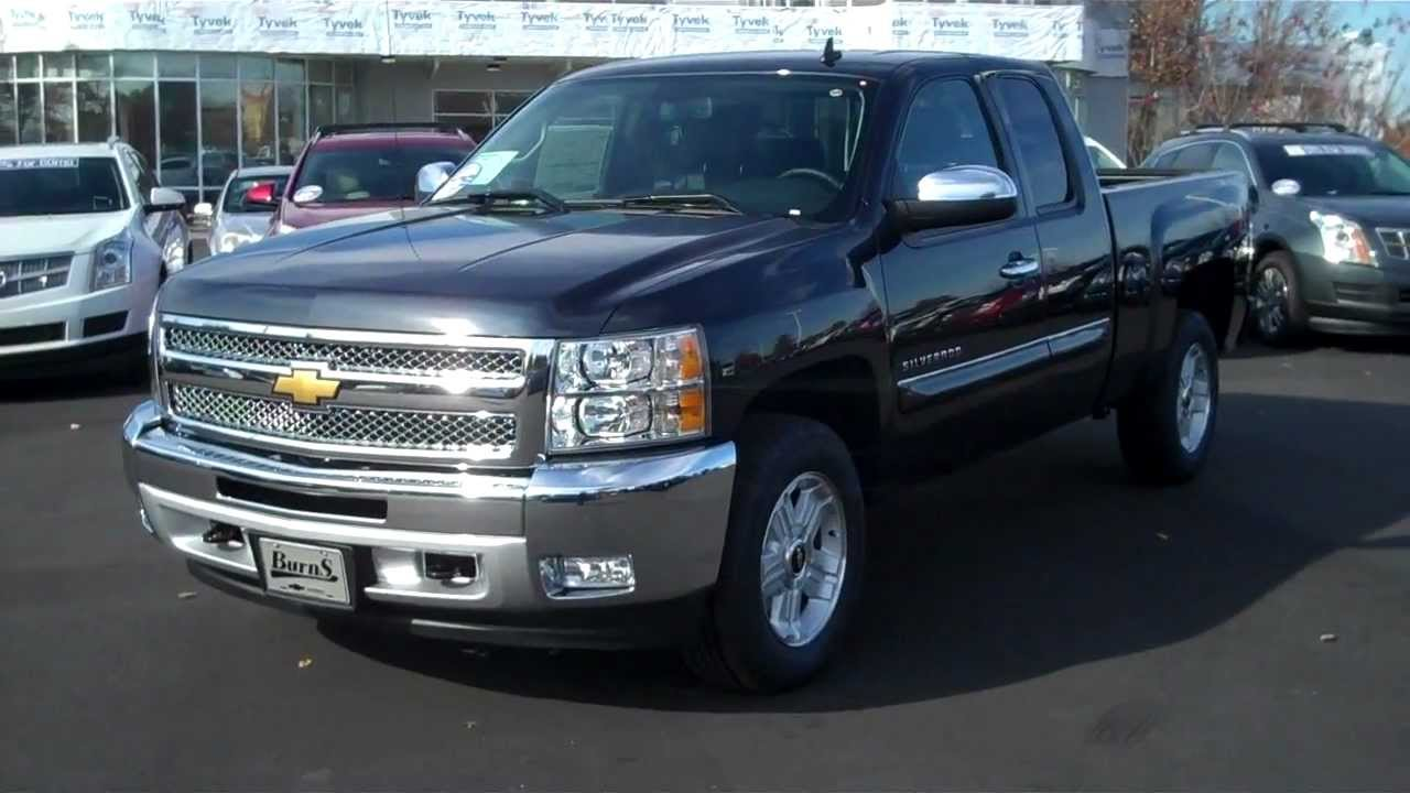 2013 Chevrolet Silverado Ext Cab 4wd Z71 Blue Ray Metallic