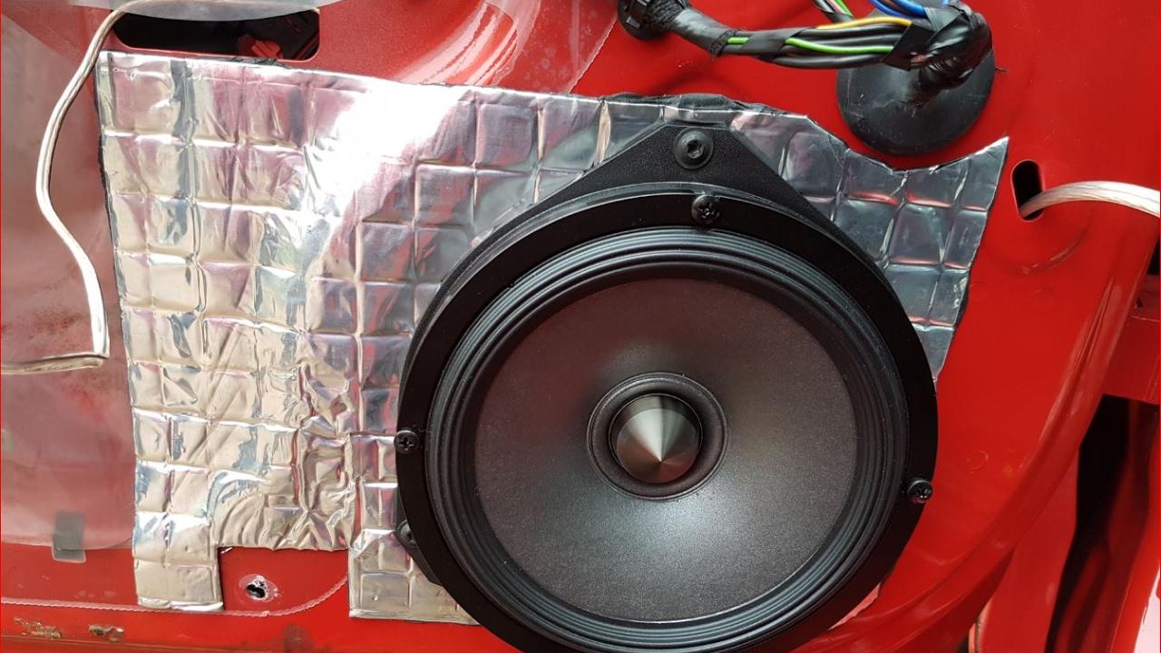Alpine Spr 60c 50 Door Speaker Install Corsa D Orion