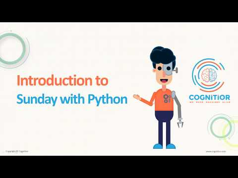 Sunday with Python | Tutorial 4 | Python Tutorial for Beginners | Cognitior thumbnail