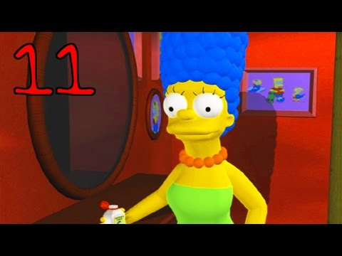 Jahova Plays The Simpsons Hit & Run Episode 11 (Marge Simpson - Level Complete!)