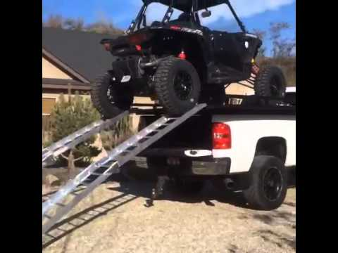 Loading On The New Utv S Atv S Truck Deck From Toyup