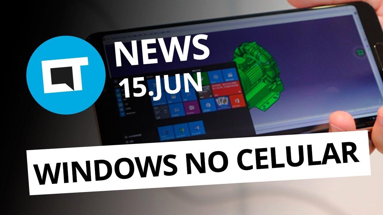 6620cedabbf Huawei terá versão cloud do Windows; Instagram não vai dedurar print e+[CT  News] - Vídeos - Canaltech