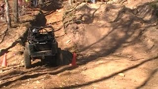 BLACK  AND GREEN JEEP 2 HILL CLIMB - TOY 4 TOTS 2014 - HASPIN ACRES