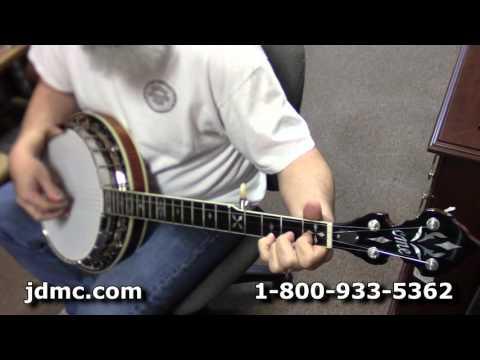 Stelling Red Fox vs. Ome Southern Cross 5-String Banjo Comparison by JDMC