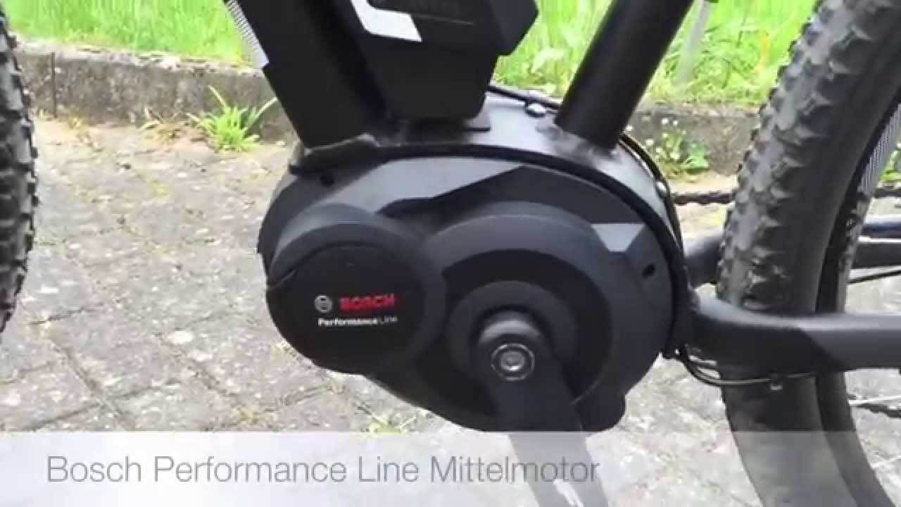 Bosch Performance Line Drive Unit On Cube Reaction Hybrid