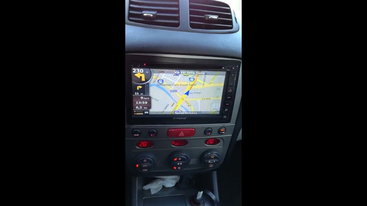 autoradio cinese gps xtrons su alfa 147 a meno di 150 euro [ 1280 x 720 Pixel ]