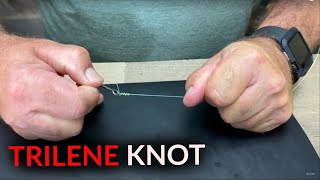 How to Tie a EASY Fishing Knot | TRILENE KNOT