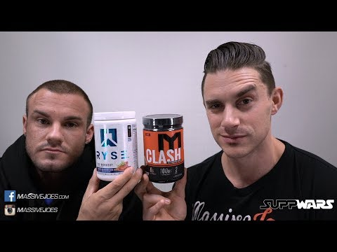 Ryse Up Pre-Workout V MTS Clash Fully Loaded   SUPPWARS