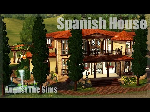 The Sims 3 - Speed Build |  Испанский Дом