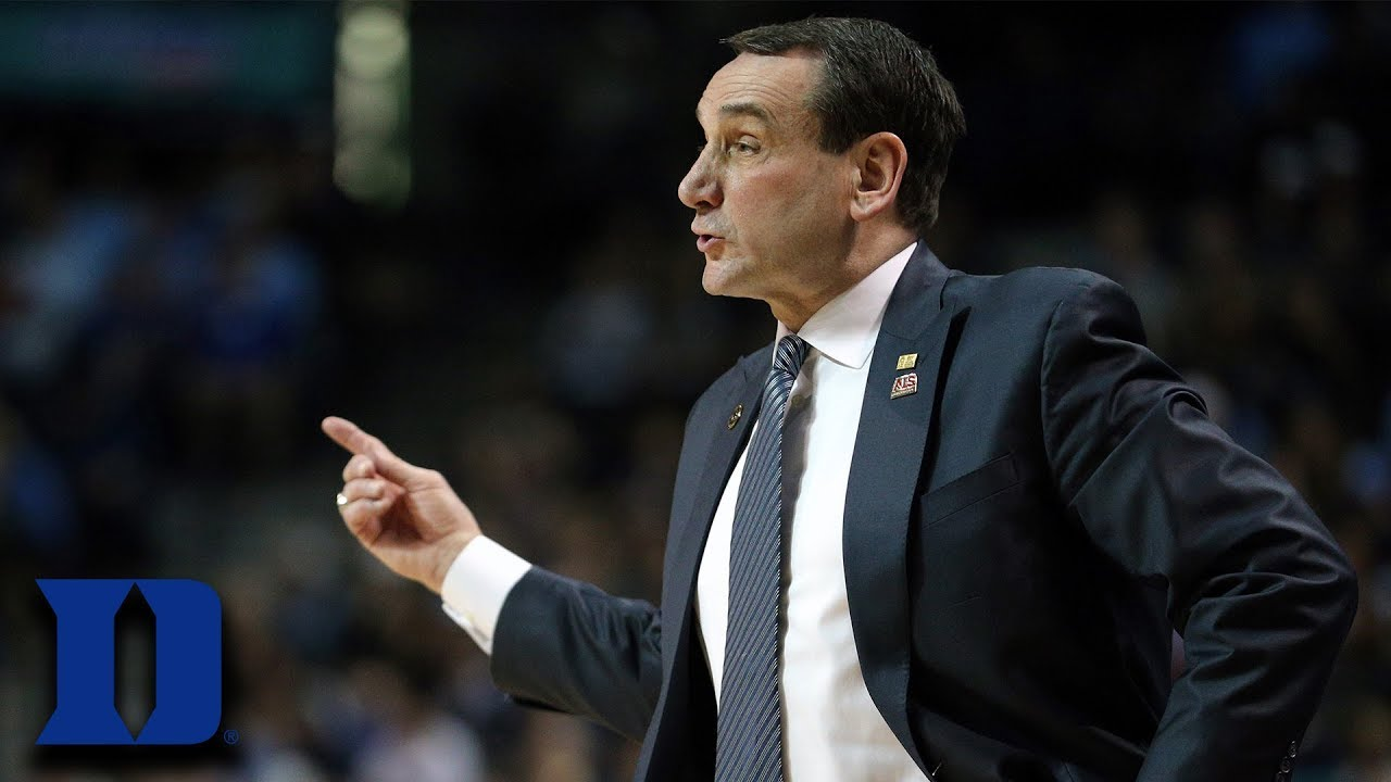 Duke Basketball Expectations: Coach K's Take - YouTube
