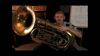 How to Play Open Notes on the Tuba