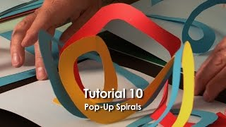 Spirals are a fun and simple form of pop-up. They are not a rigid shape, and are not used to raise other structures, but an excellent and very easy way of adding ...