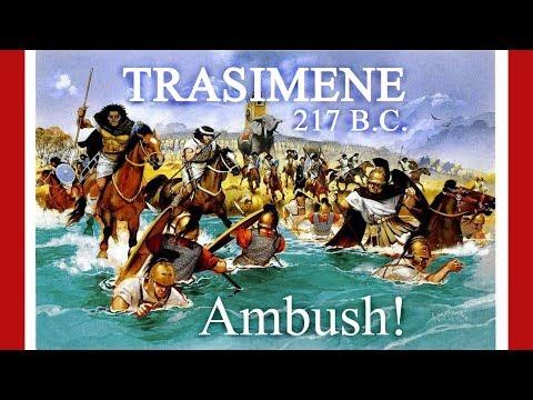 Trasimene - history's greatest ambush
