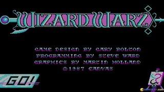 Wizard Warz gameplay (PC Game, 1987)