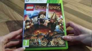 Lego Lord of The Rings Unboxing - Xbox 360