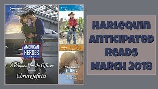 Harlequin Anticipated Reads ♥ March 2018