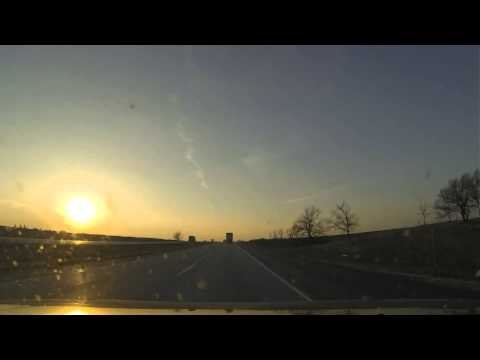 New York To Los Angeles Time lapse