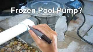 Frozen Pool Pump | Frozen Filter | Lines | Heater | Gainesville | Suwanee | Buford Ga