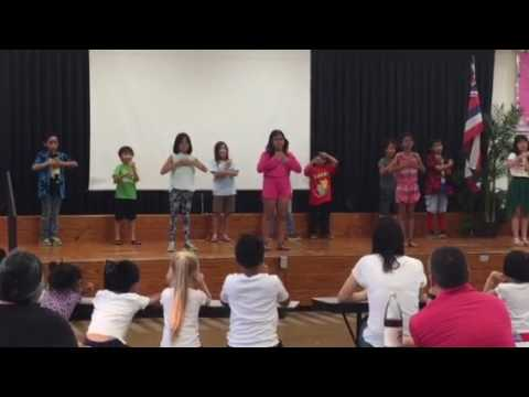 Aliiolani A+ Family Night Grades 2 & 3 Performance for