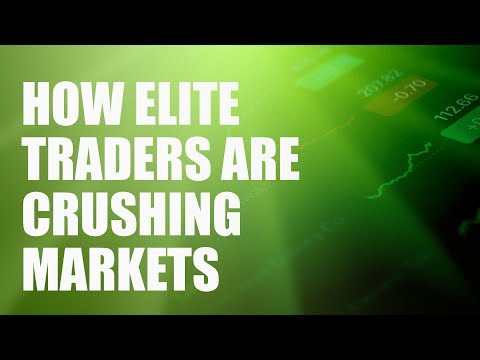 How Elite Traders Are Crushing Markets (so you can too)