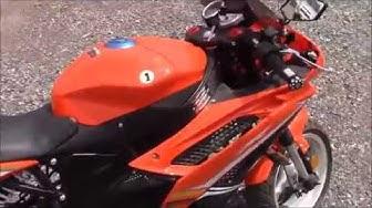 50cc Venom x18 Street Legal Motorcycle / Moped - Detailed Walk Around + In Depth Look