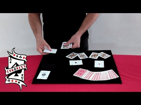 INSANITY: 52 shades of red + gone deck