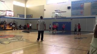santa maria youth basketball div 3 game 1 thunder vs heat quarter 3