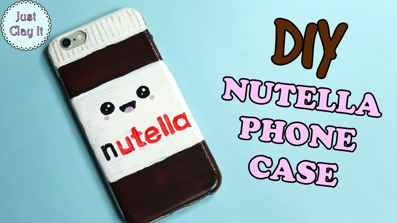Diy how to make nutella phone case easy phone case for How to make a homemade phone case