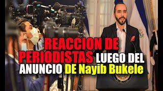 LAS DOS NOTICIAS DE Nayib Bukele