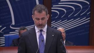 His Majesty the King of Spain addresses the Parliamentary Assembly