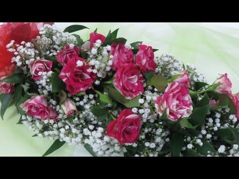 Floristik Anleitung ❁ Blumengirlande binden ❁ Deko Ideen mit Flora-Shop