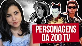 Personagens da Zoo TV do U2 | Canal Red Behavior