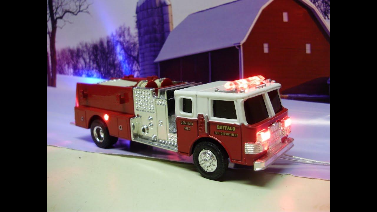 Custom 1 64 Scale Ertl Pierce Pumper Buffalo Fire