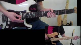 No Doubt - Spiderwebs Guitar and Bass Cover
