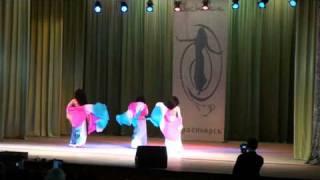 fan-veil танец с веерами-вейлами трио ХЕЛЬВА