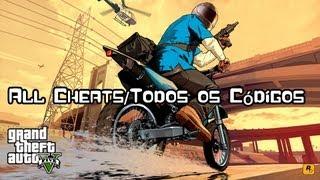 GTA V - All Cheats/Todos os Códigos ( Leia a Descrição) (PS3 & XBOX 360)