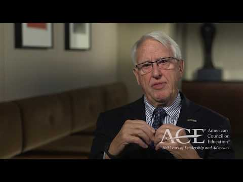 Stanley Ikenberry on the American Council on Education's 100th Anniversary