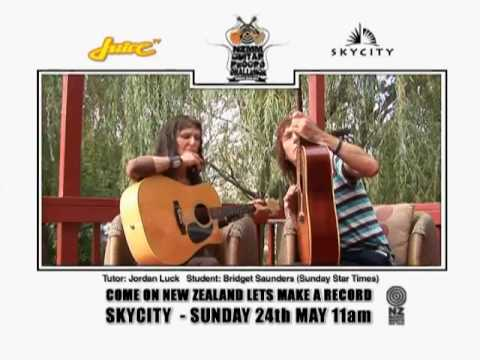 NZ Guitar Lesson - Bridget Saunders