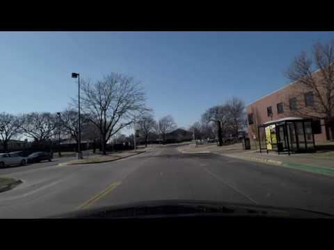 Driving Around the Wichita State University Campus