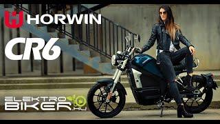 Horwin CR6 elektromos motorkerékpár