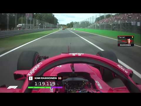 The Fastest Lap In F1 - Raikkonen's Monza Pole | 2018 Italia