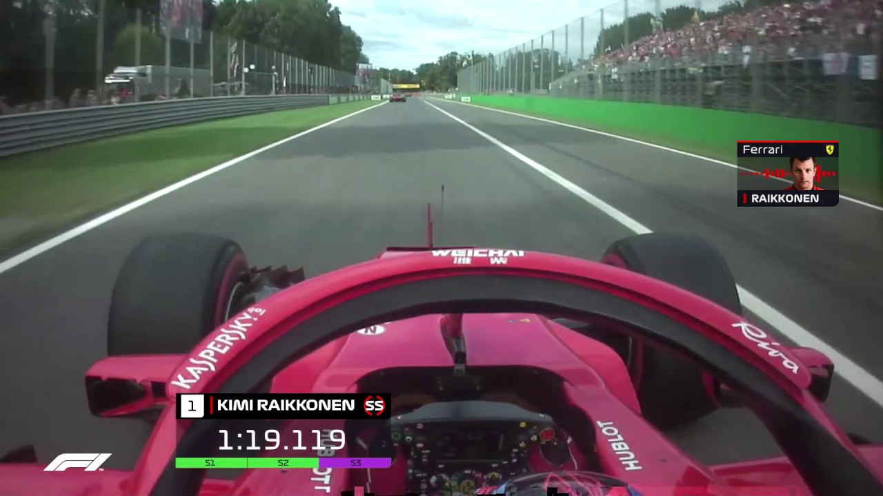 The Fastest Lap In F1 - Raikkonen's Monza Pole | 2018 Italian Grand Prix