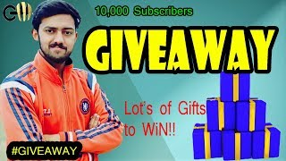 Big GIVEAWAY | 10,000 Subscriber Giveaway | Gadget masters