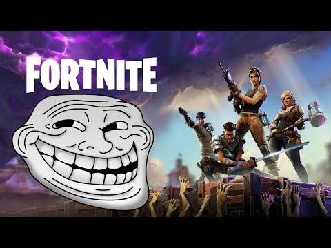 Fortnite Battle Royale W Stuttering Pro Gamer Kevo and Leesh Troll Session Episode  2
