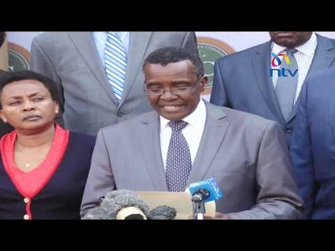 Judges will not be intimidated, we are prepared to pay ultimate price - CJ David Maraga