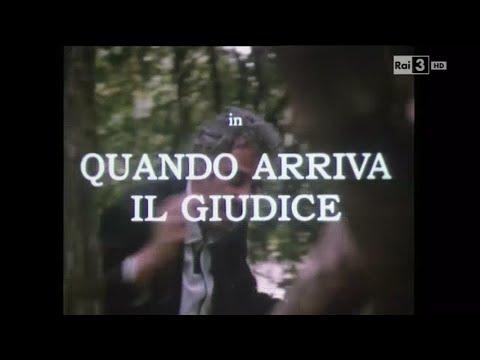 """SCENEGGIATO RARISSIMO  1986 """"QUANDO ARRIVA IL GIUDICE"""" DI G.QUESTI"""