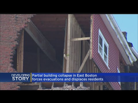 Demolition Scheduled On East Boston Building After Partial Collapse